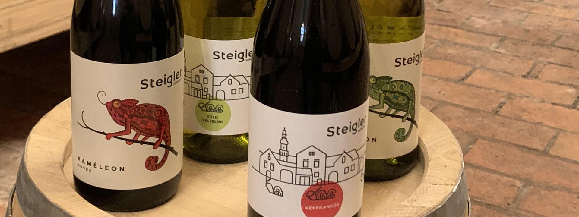 Steigler pince Sopron klasszikus borok